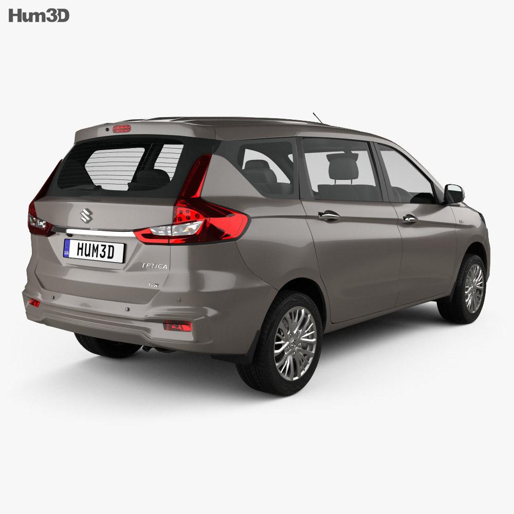 Suzuki Ertiga GX 2018 3d model