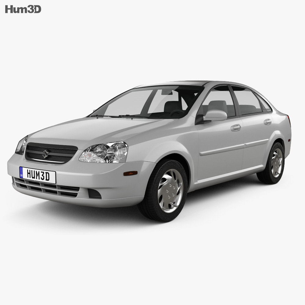 Suzuki Forenza sedan 2006 3d model