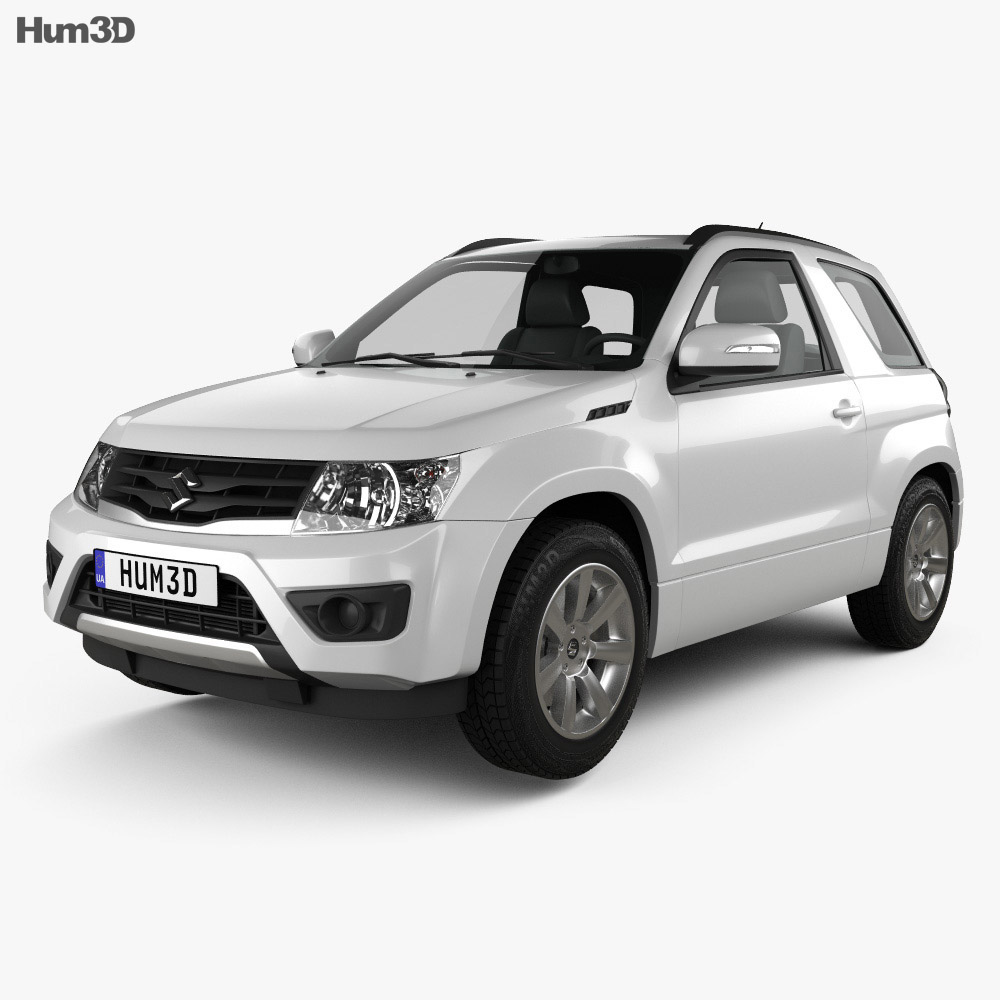 Suzuki Grand Vitara 3-door 2012 3d model