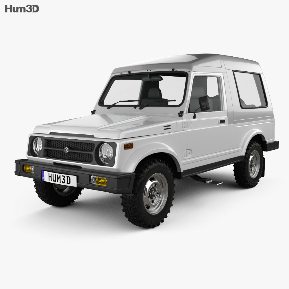 Suzuki Gypsy 2016 3d model