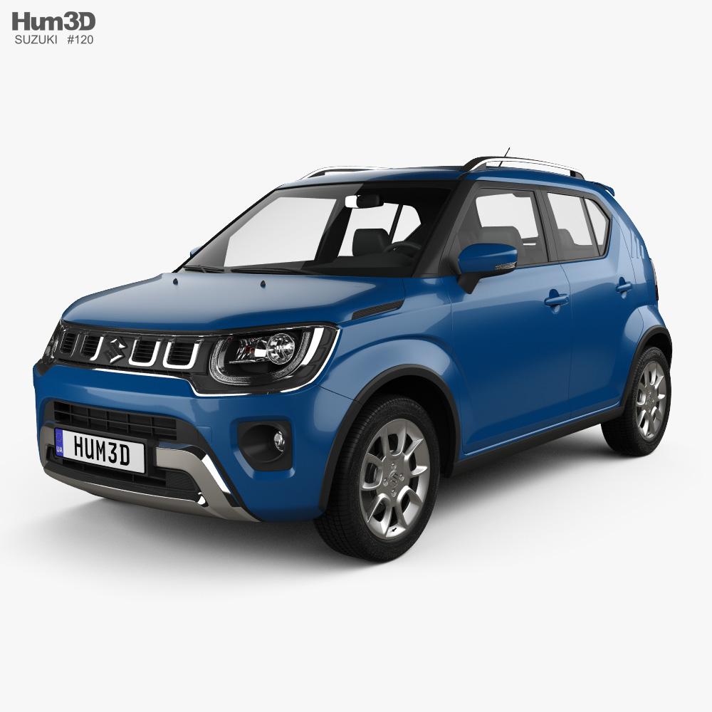 Suzuki Ignis 2020 3d model