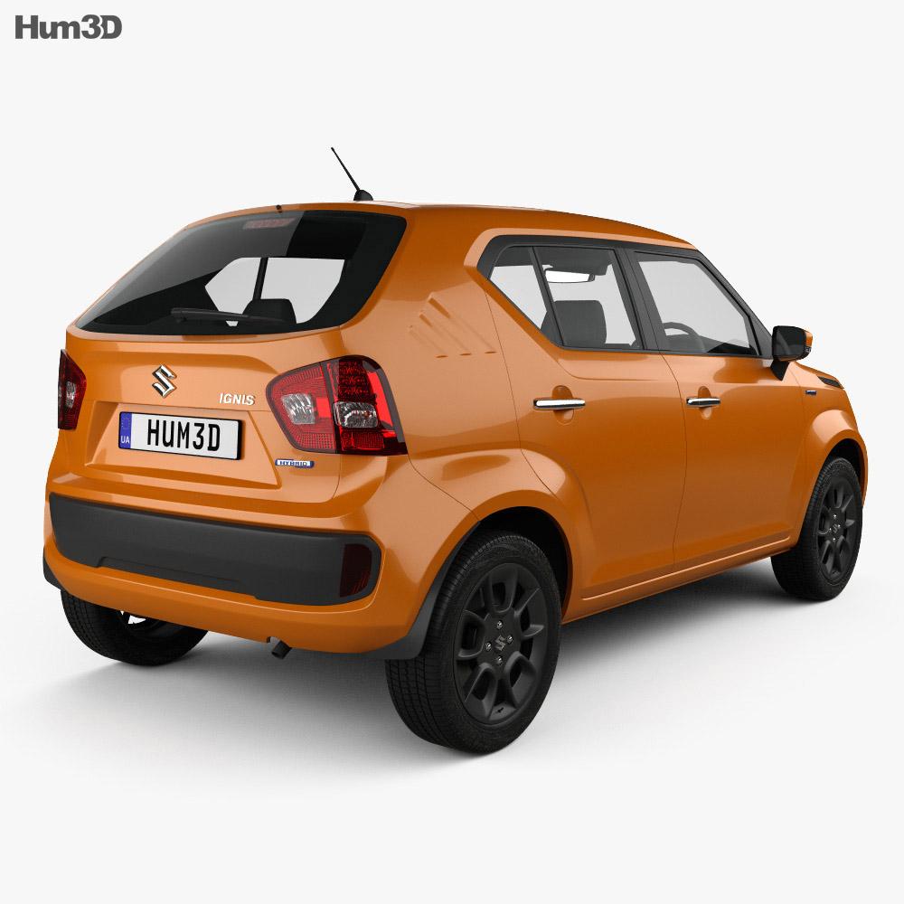 Suzuki Ignis Hybrid 2016 3d model