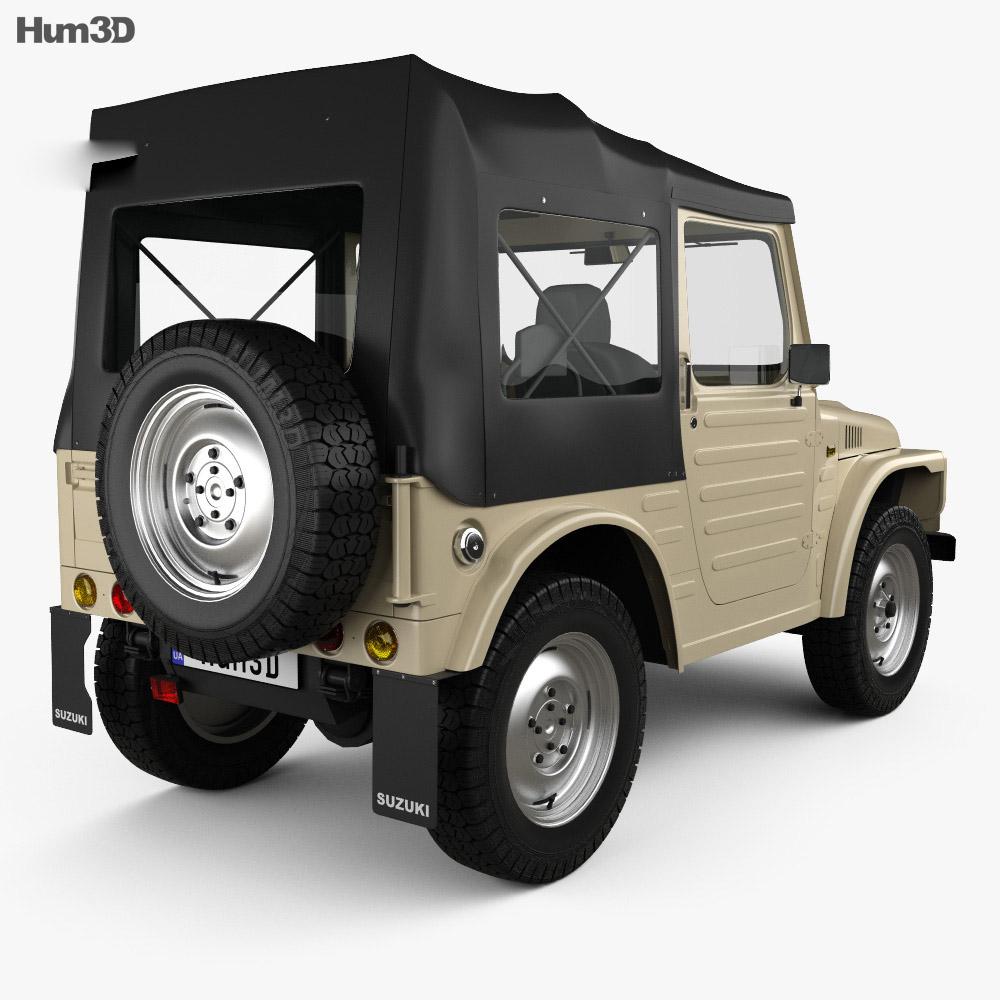Suzuki Jimny 1977 3d model
