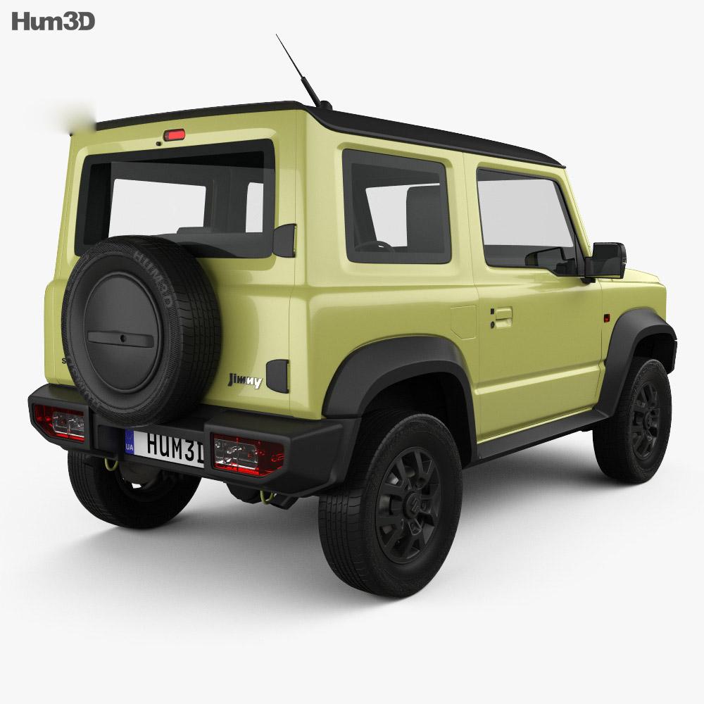 Suzuki Jimny Sierra 2019 3d model