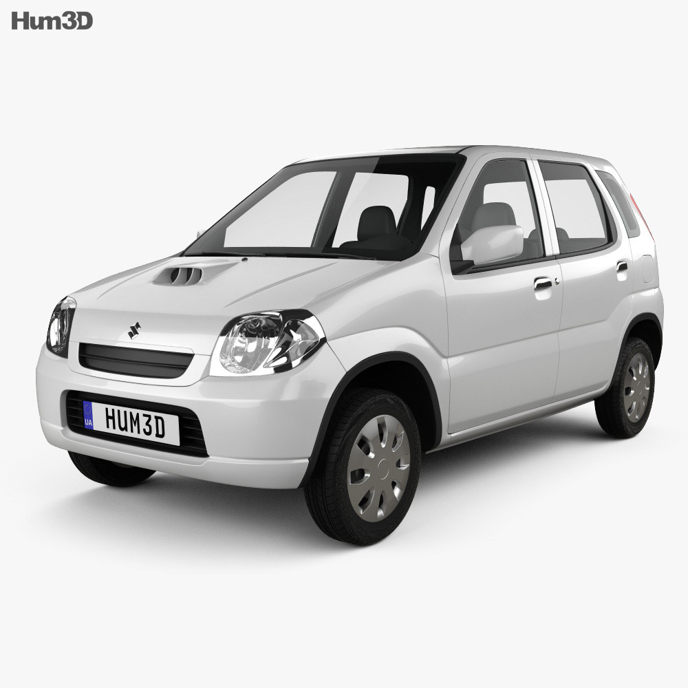 Suzuki Kei 5-door 2000 3d model