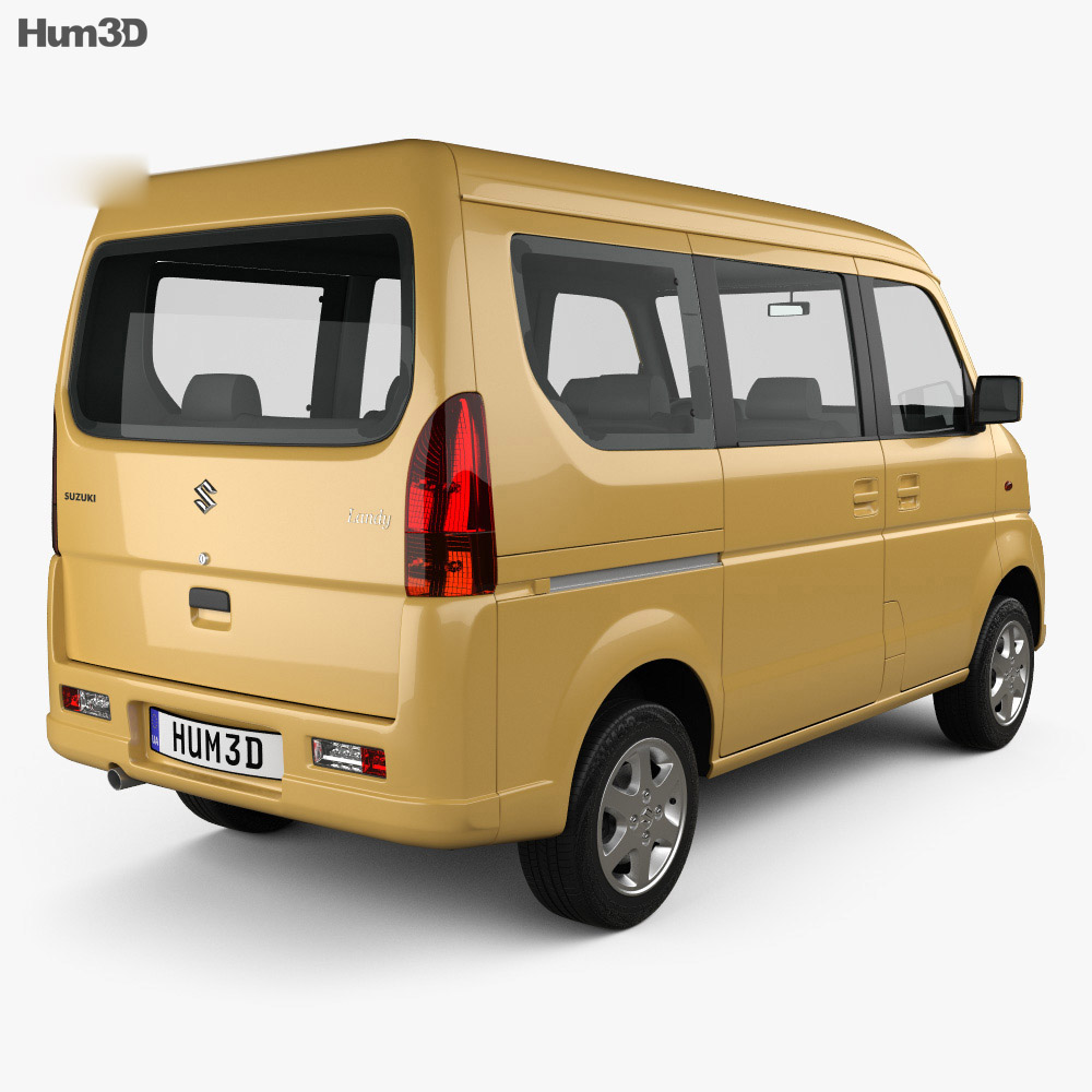 Suzuki Landy (CN) 2008 3d model