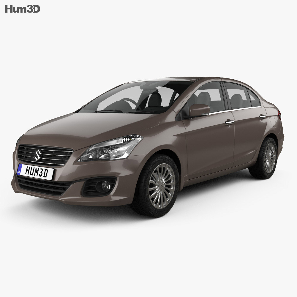Suzuki (Maruti) Ciaz 2014 3d model
