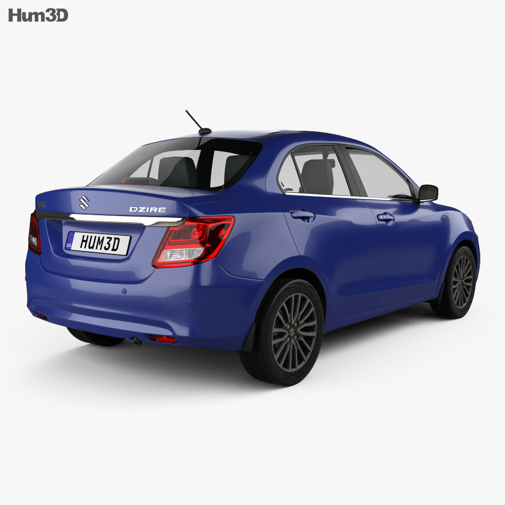Suzuki (Maruti) Swift Dzire 2017 3d model