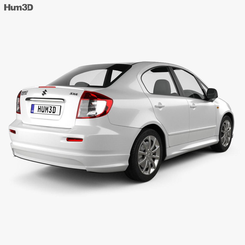 Suzuki (Maruti) SX4 sedan 2012 3d model