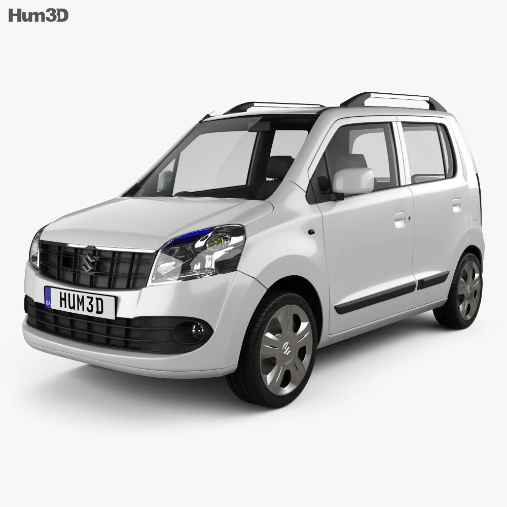 Suzuki (Maruti) Wagon R 2011 3D Model
