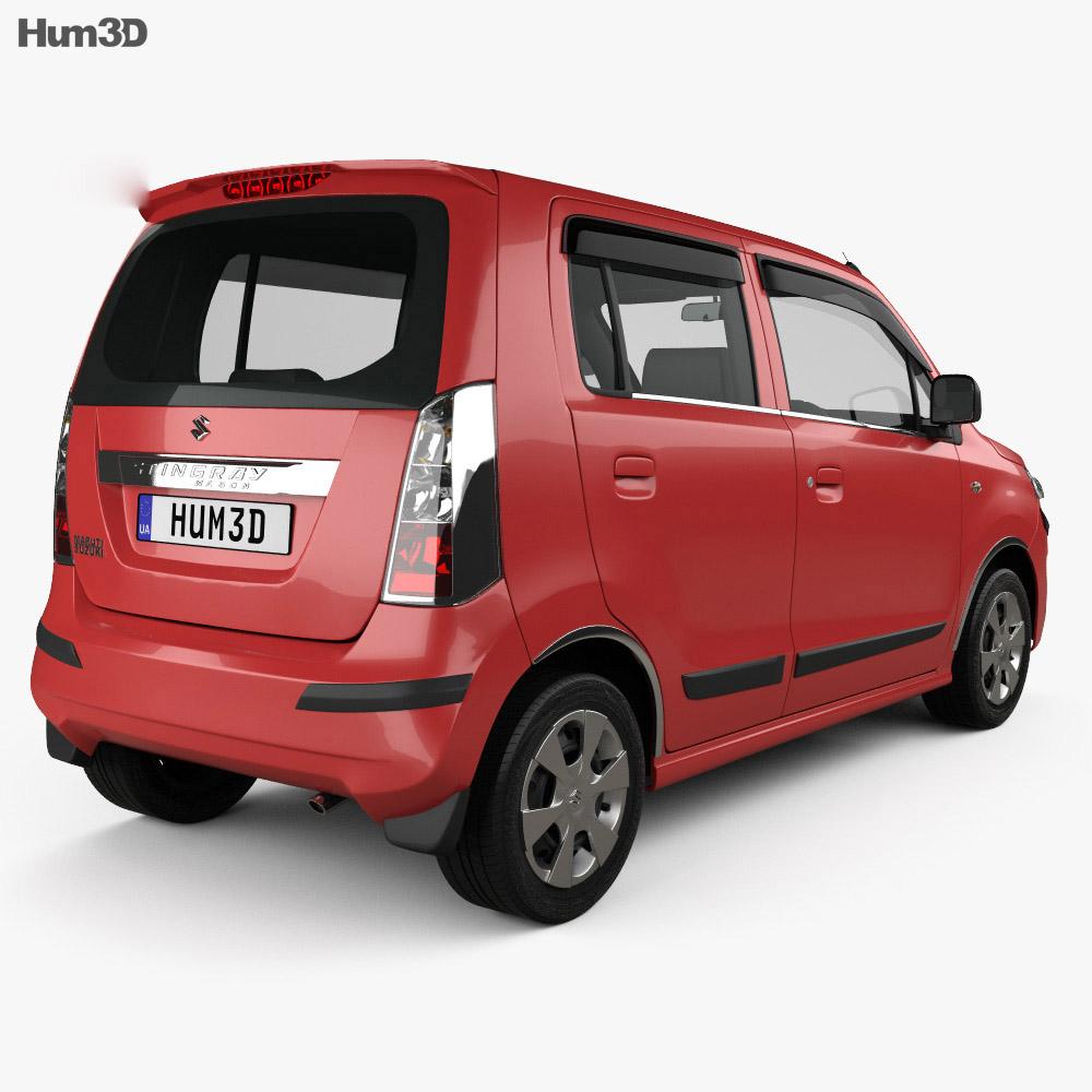 Suzuki (Maruti) WagonR Stingray 2013 3d model