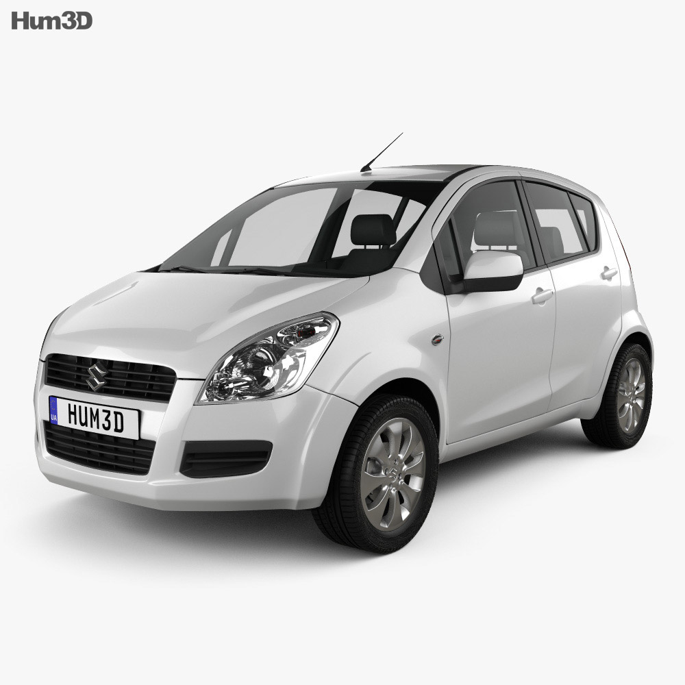 Suzuki Splash 2008 3d model