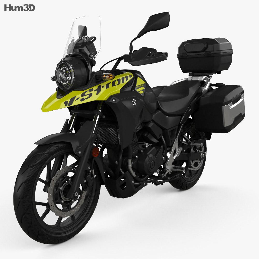 Suzuki V-Strom 250 2017 3d model