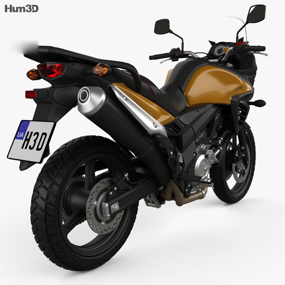 Suzuki V-Storm 1000 3D Model - 3D CAD Browser