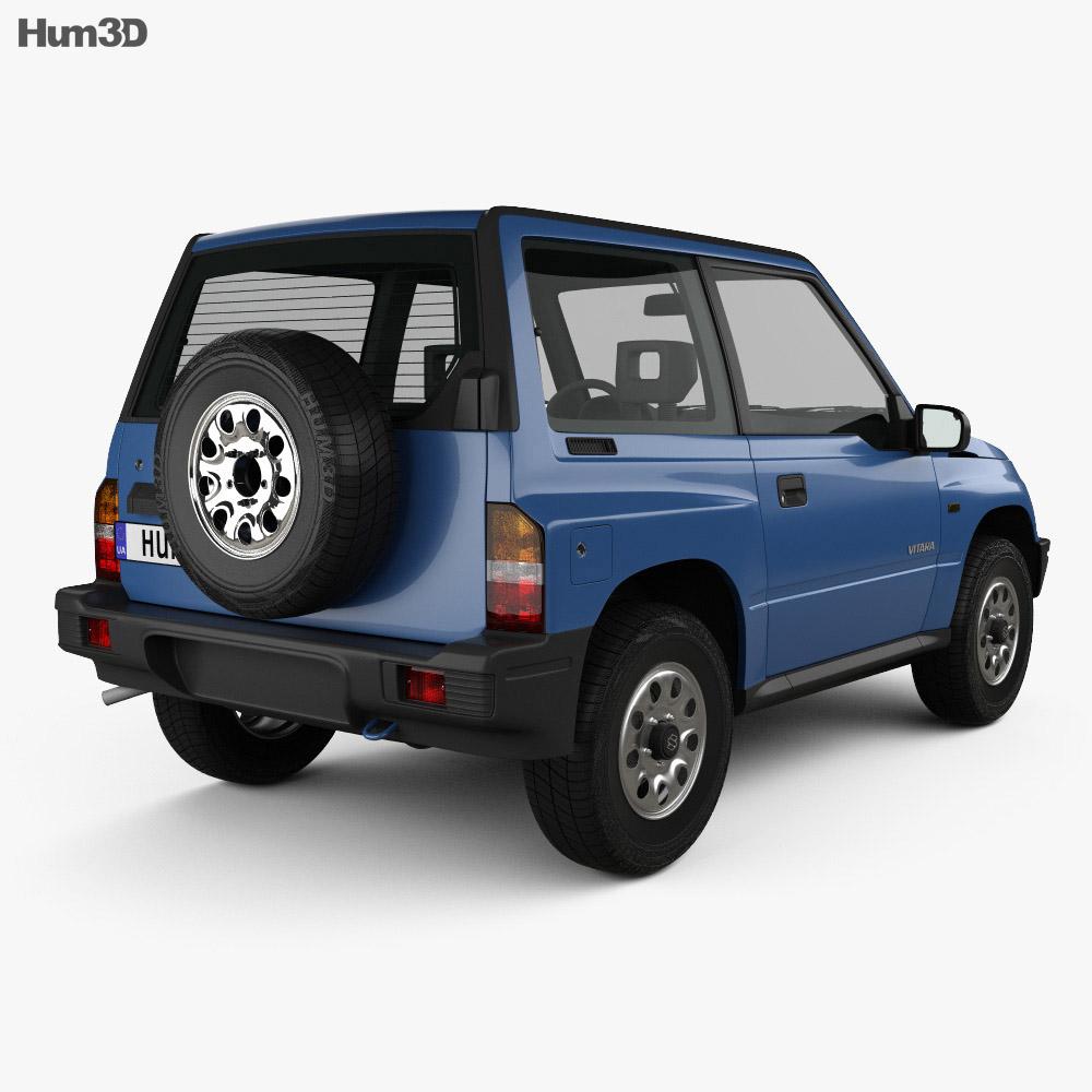 Suzuki Vitara 3-door 1989 3d model