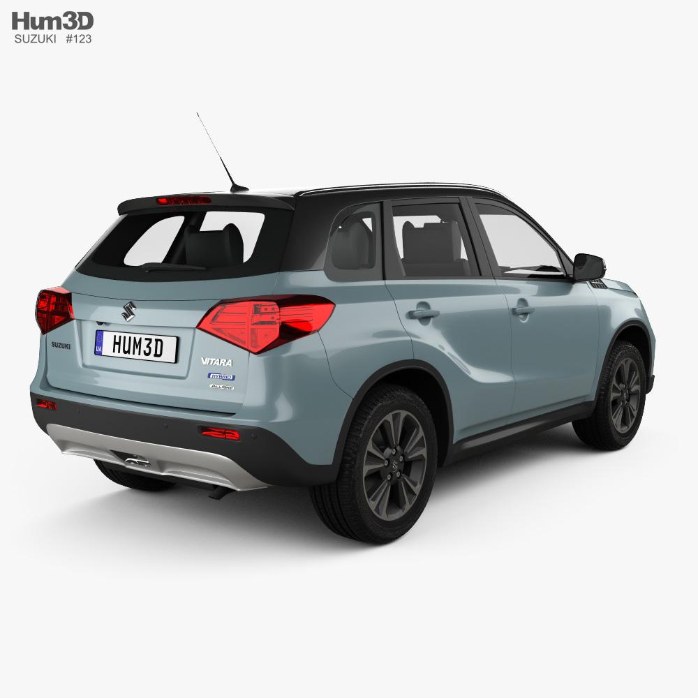 Suzuki Vitara Hybrid AllGrip 2020 3d model