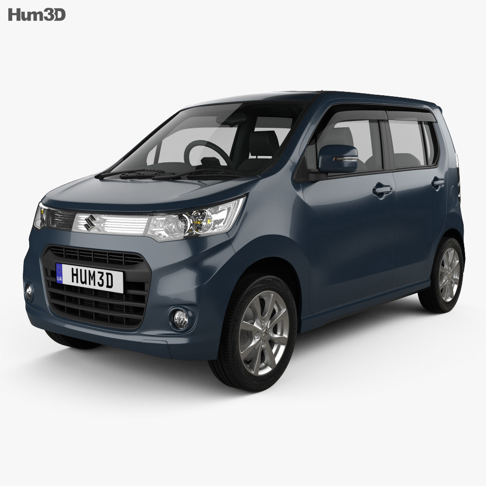 Suzuki Wagon R Stingray T 2012 3d model