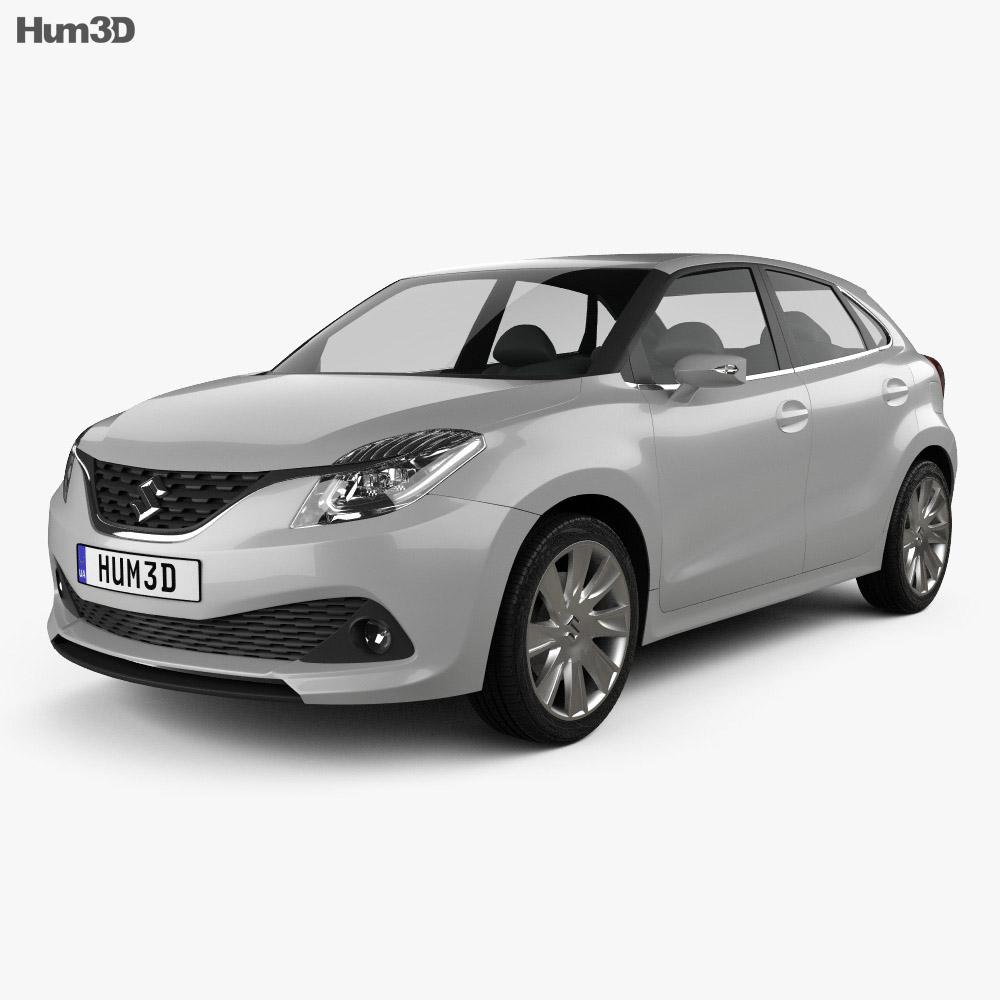 Suzuki iK-2 2015 3d model