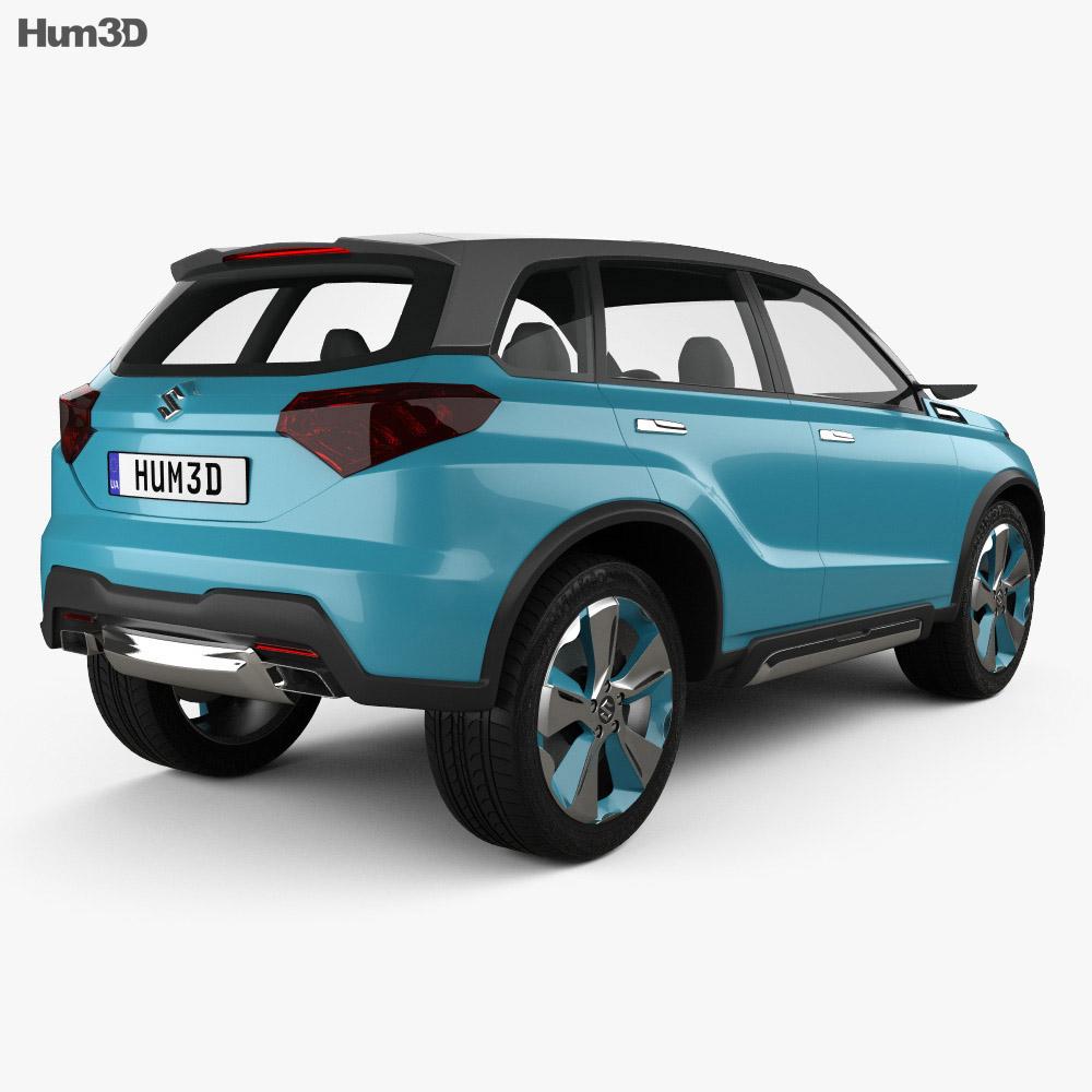 Suzuki iV-4 2014 3d model