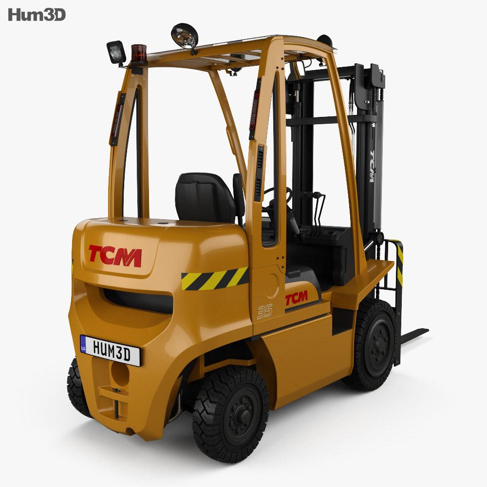 TCM FD35-E1 2019 3d model