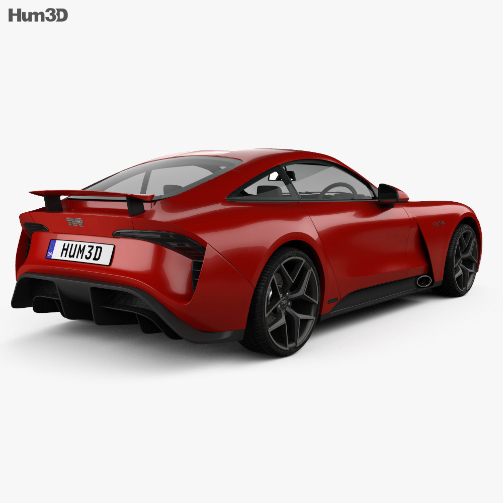 TVR Griffith 2018 3d model