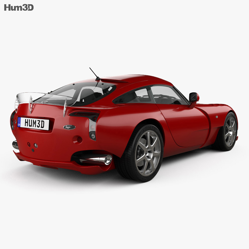 TVR Sagaris 2004 3d model