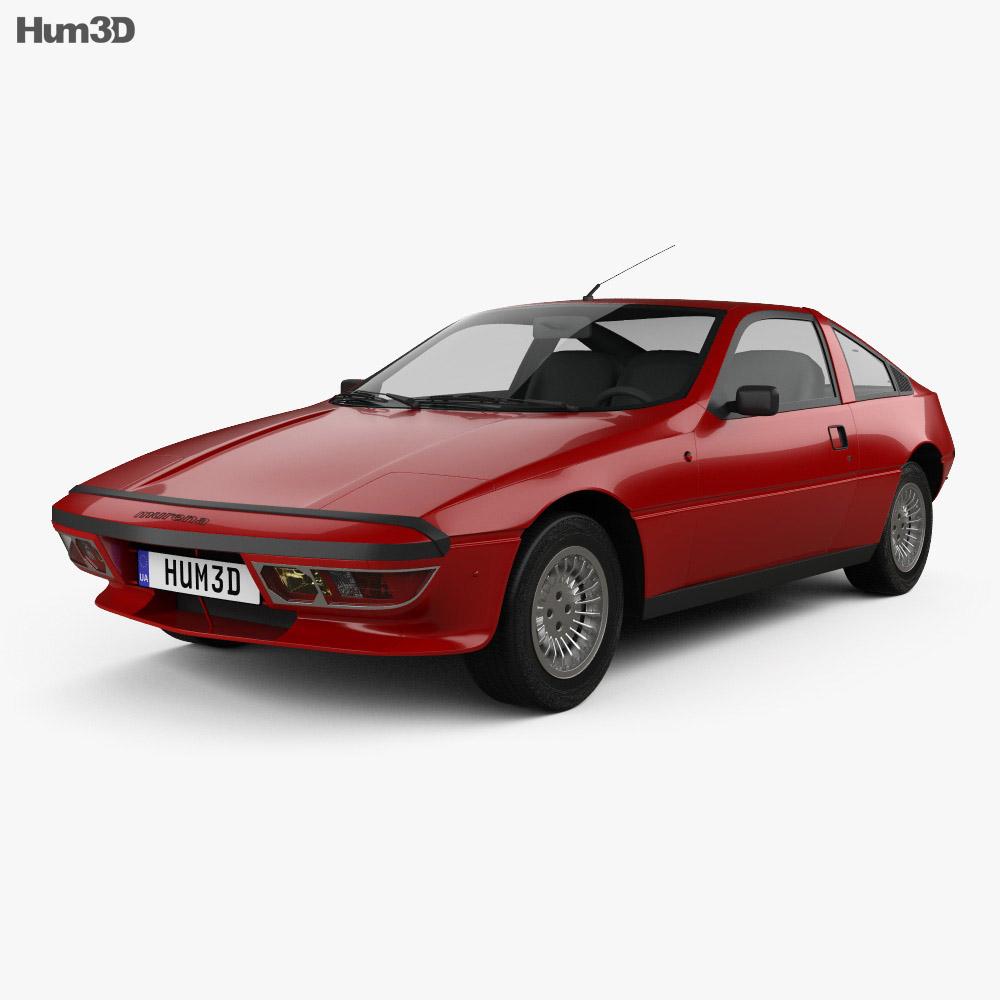 3D model of Talbot-Matra Murena 1981