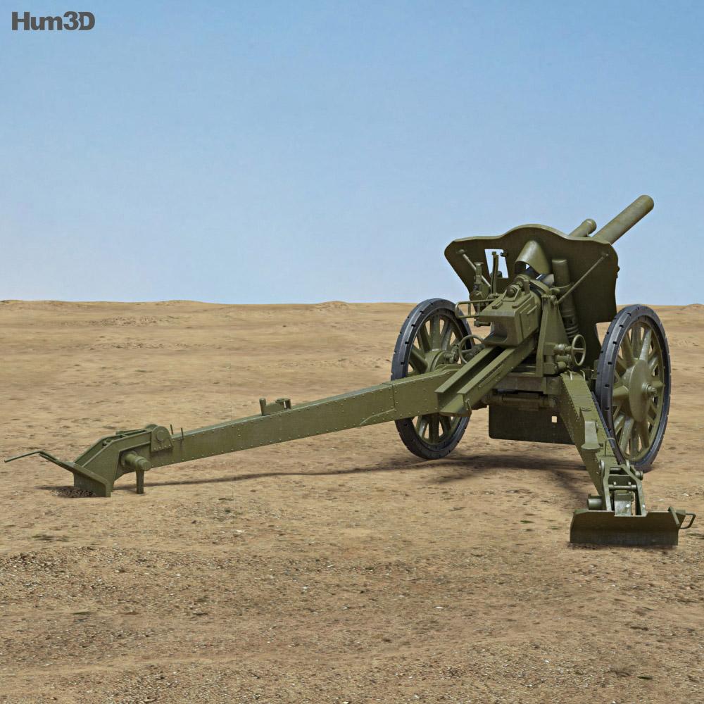 10.5 cm leFH 18 3d model