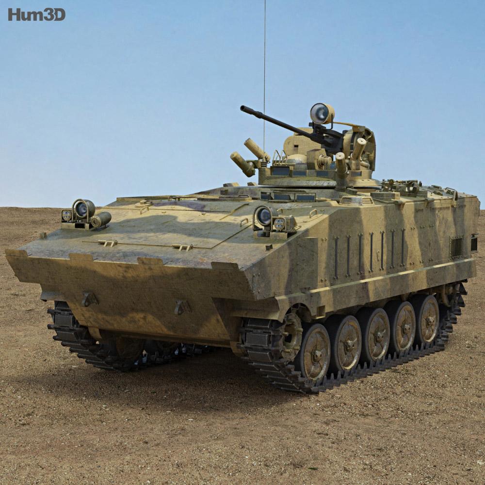 AMX-10P 3d model