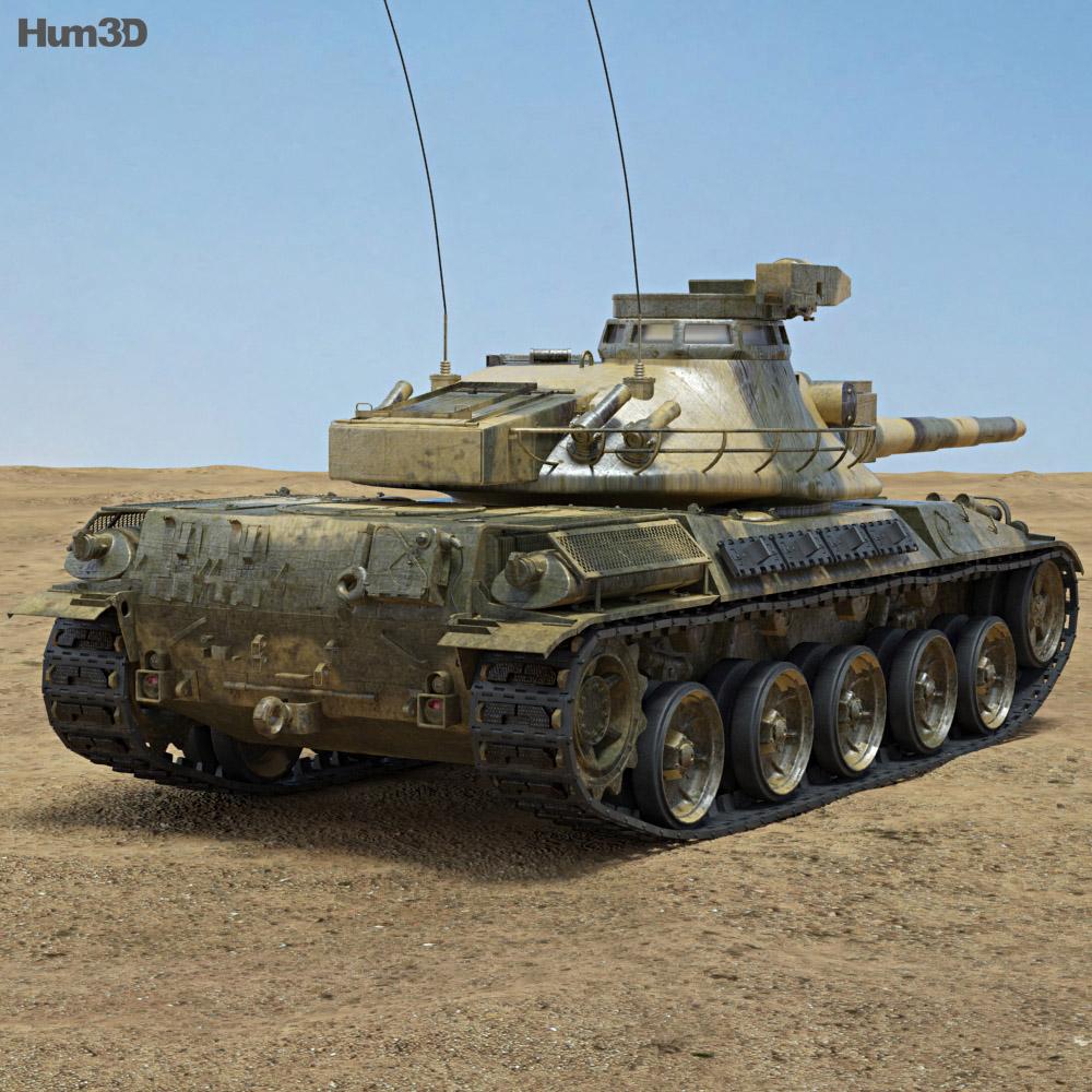 AMX-30 3d model