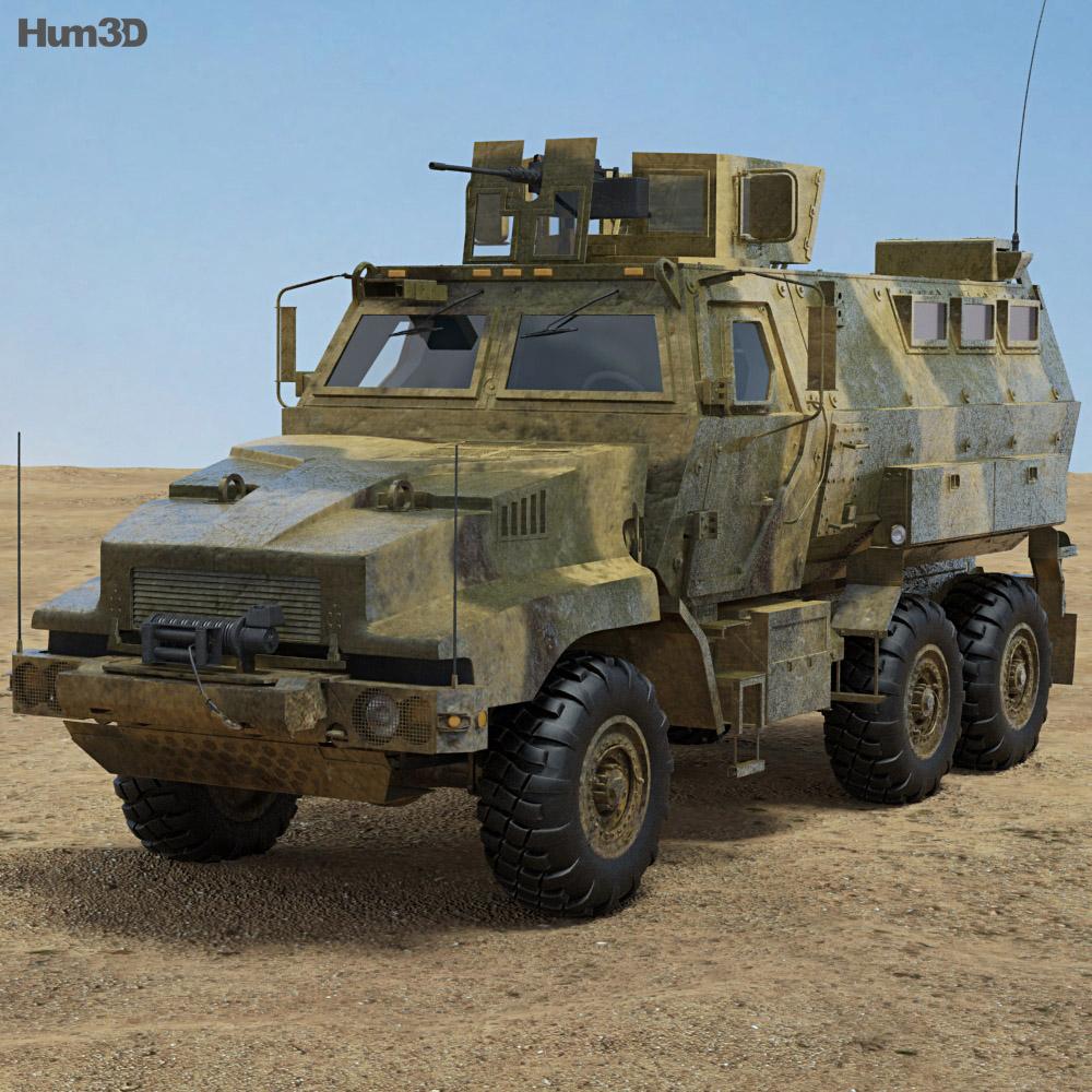 BAE Caiman 3d model