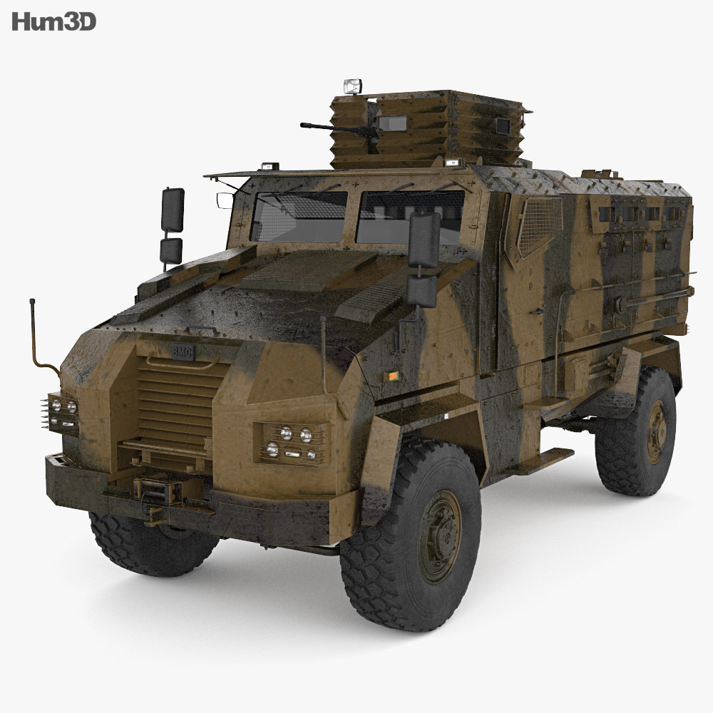 BMC Kirpi MRAP 3d model