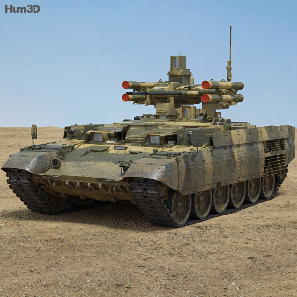 BMPT Terminator 3d model