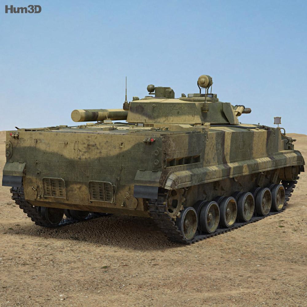 BMP-3 3d model