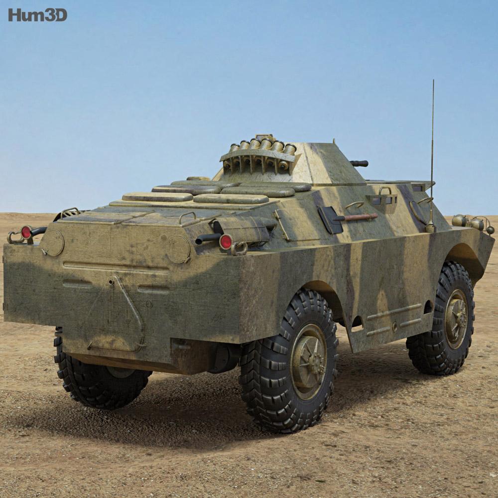 BRDM-2 3d model