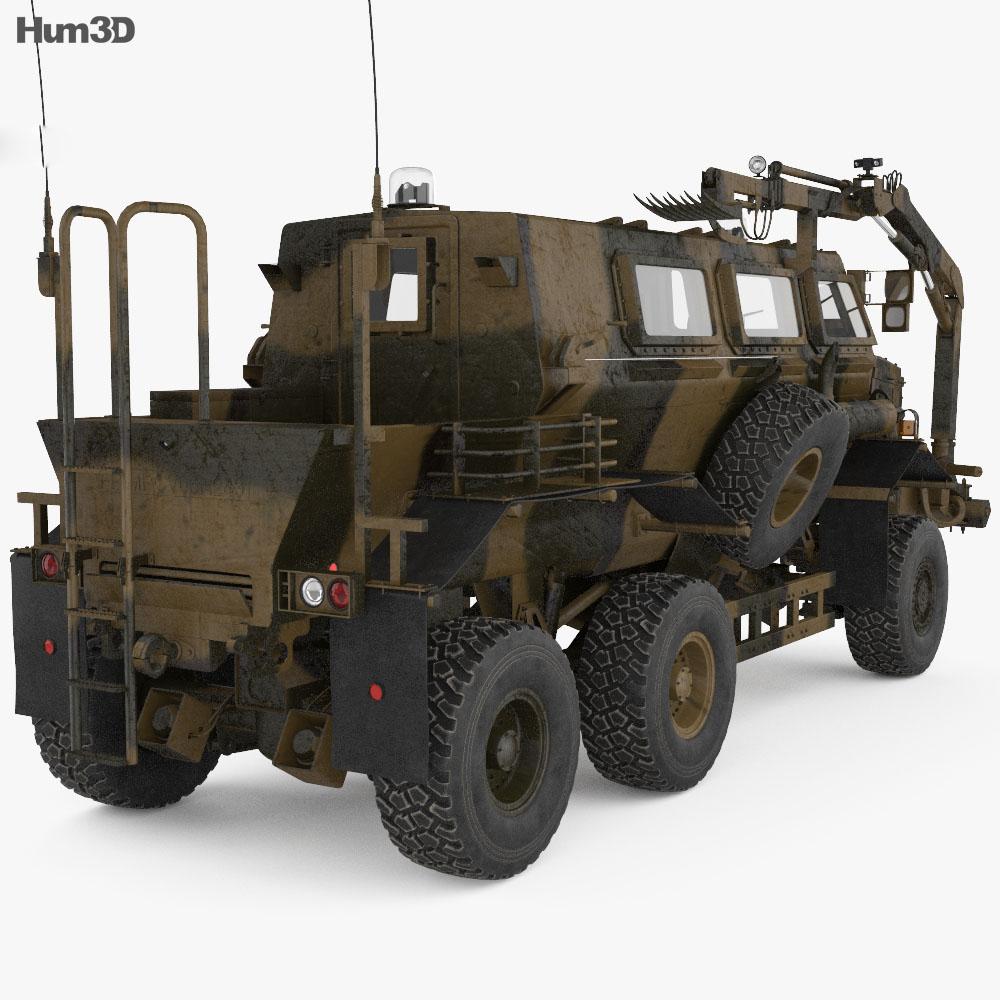 Buffalo MPV 3d model