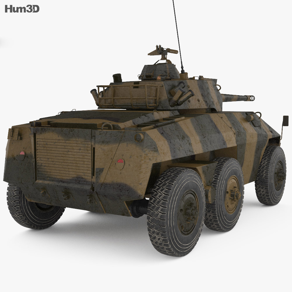 EE-9 Cascavel 3d model