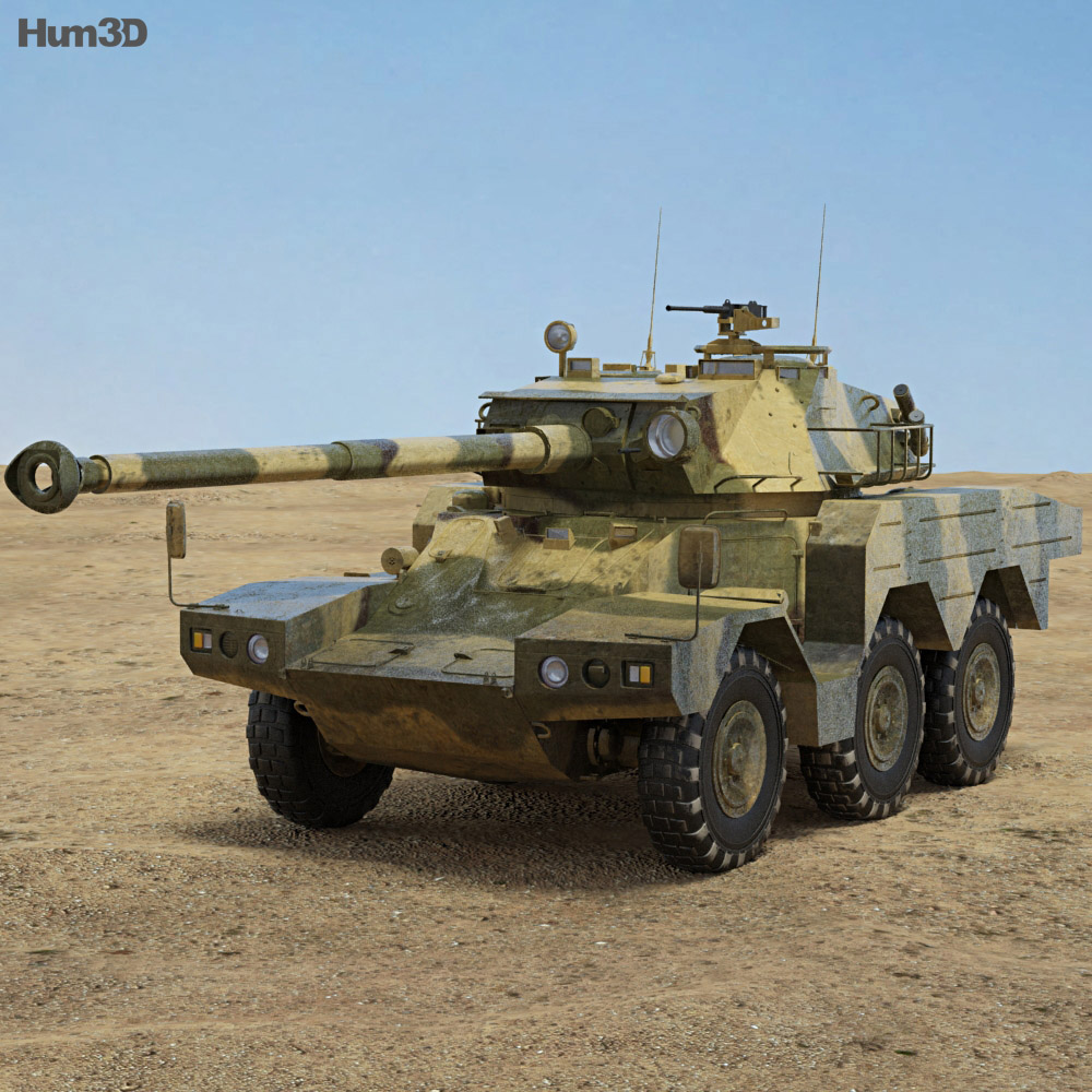 ERC 90 Sagaie 3d model