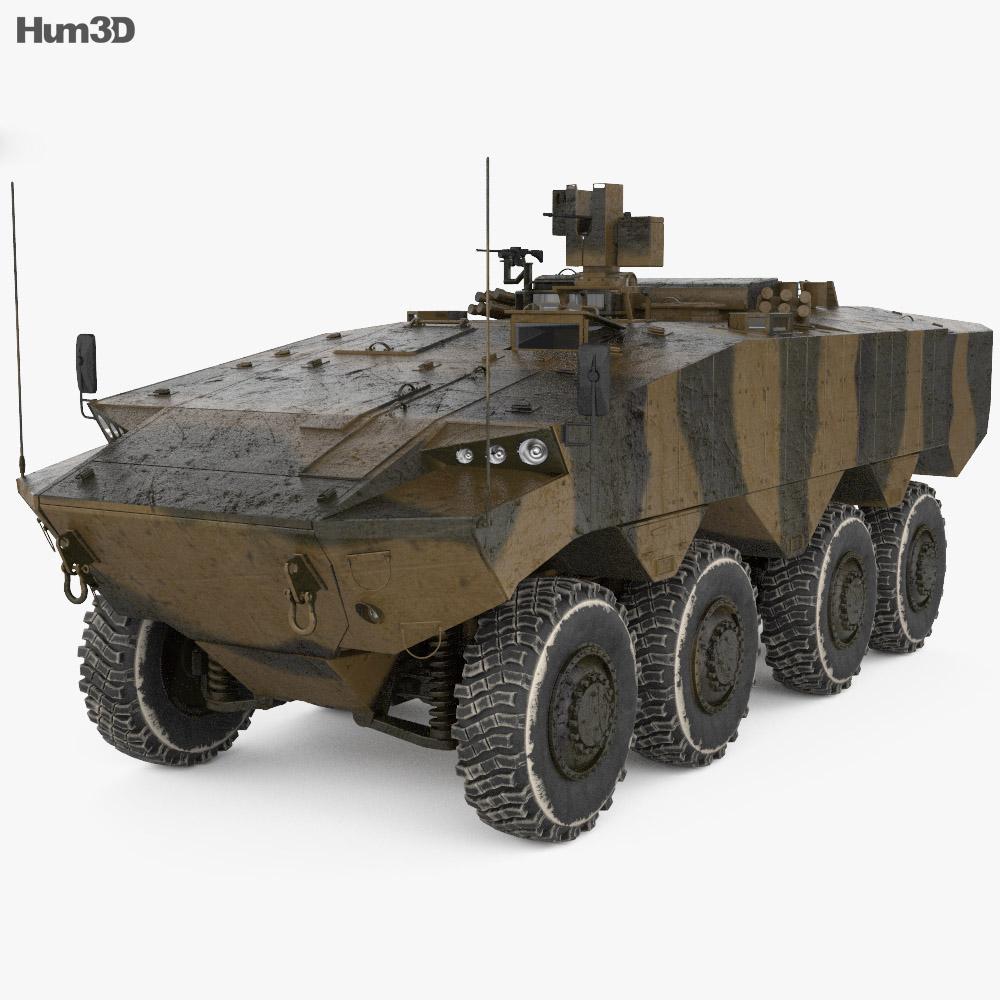 Eitan AFV 3d model