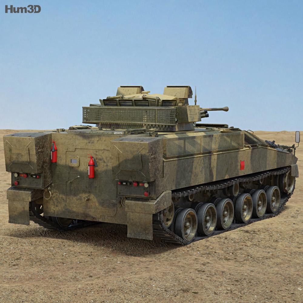 FV510 Warrior 3d model