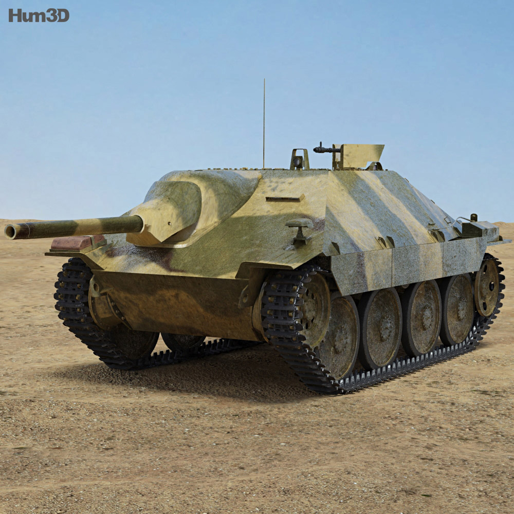 Jagdpanzer 38 Hetzer 3d model