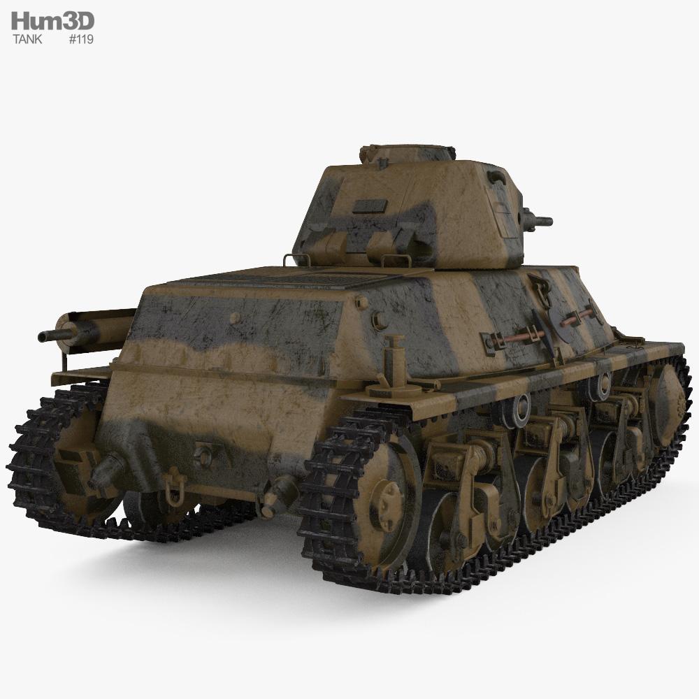 Hotchkiss H35 3d model