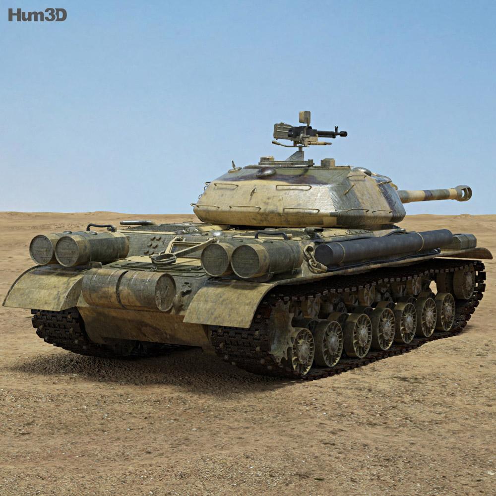 IS-4 3d model