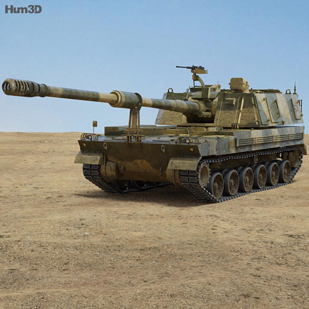 K9 Thunder 3d model