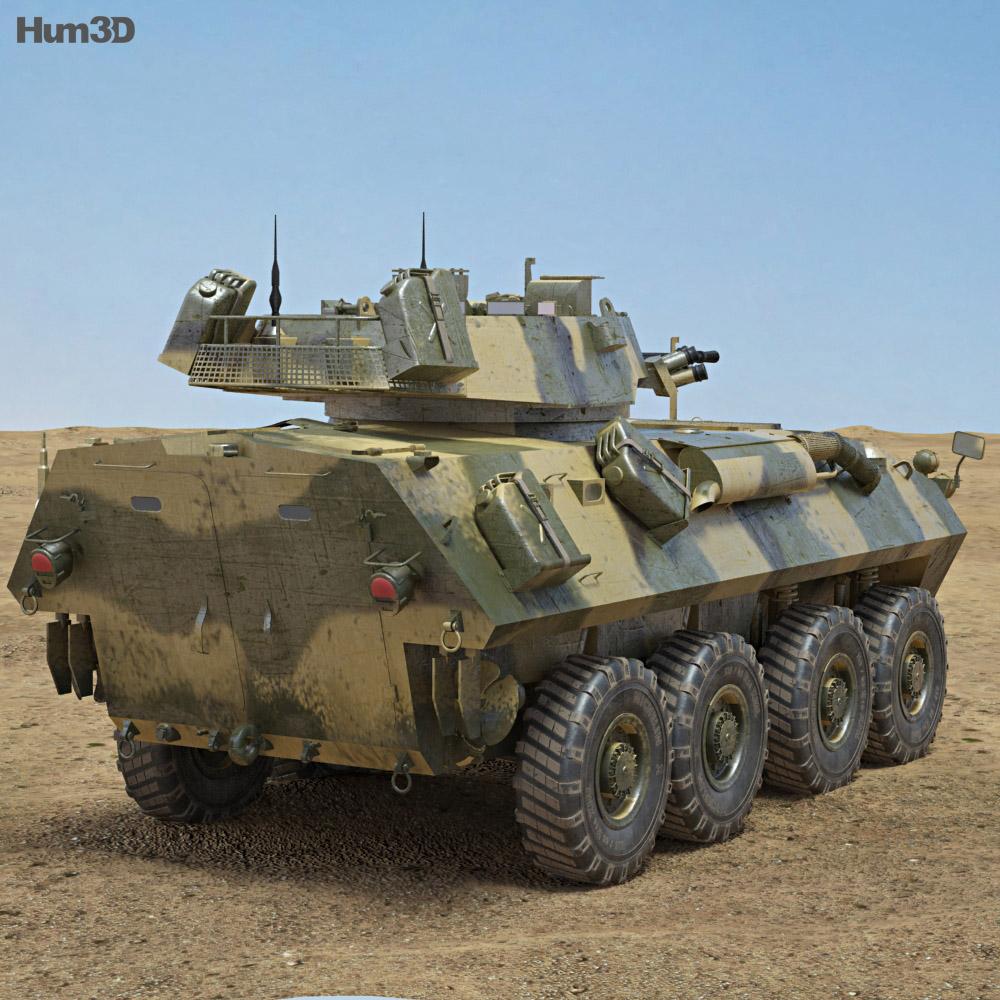 LAV-25 3d model