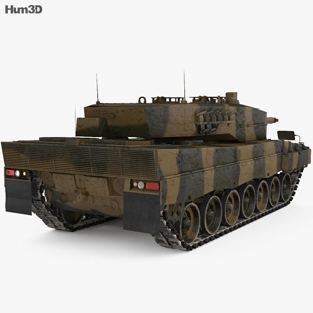 Leopard 2A4 3d model