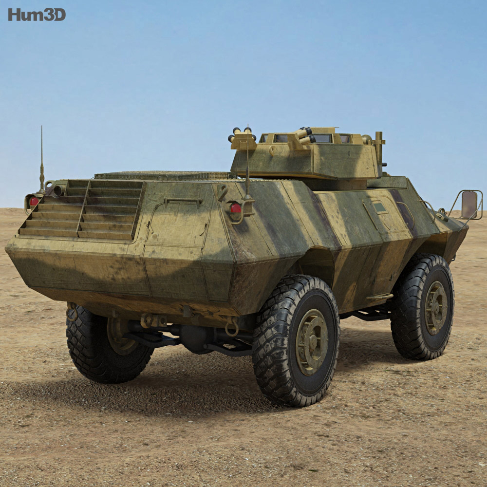 M1117 Armored Security Vehicle 3d model