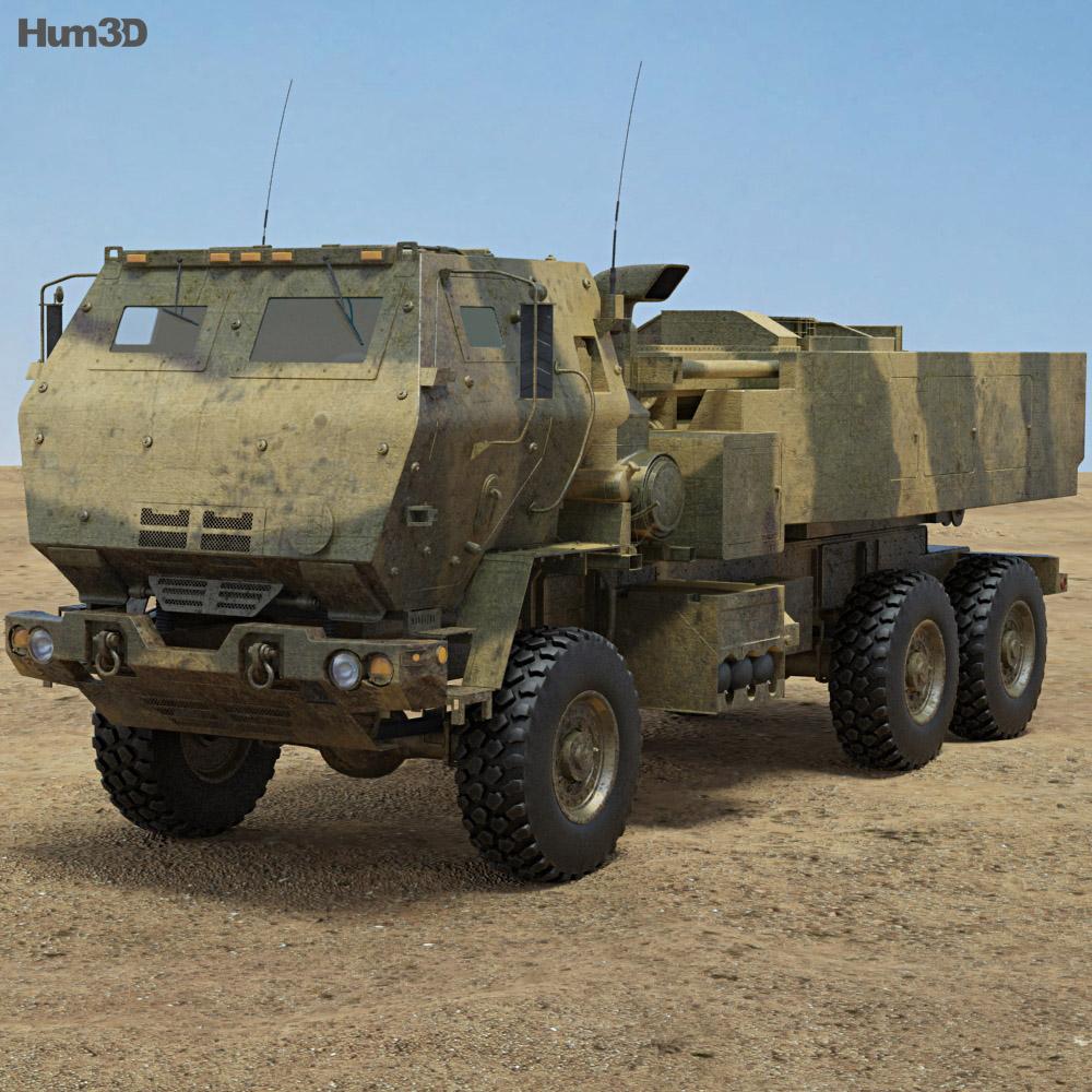 M142 HIMARS 3d model