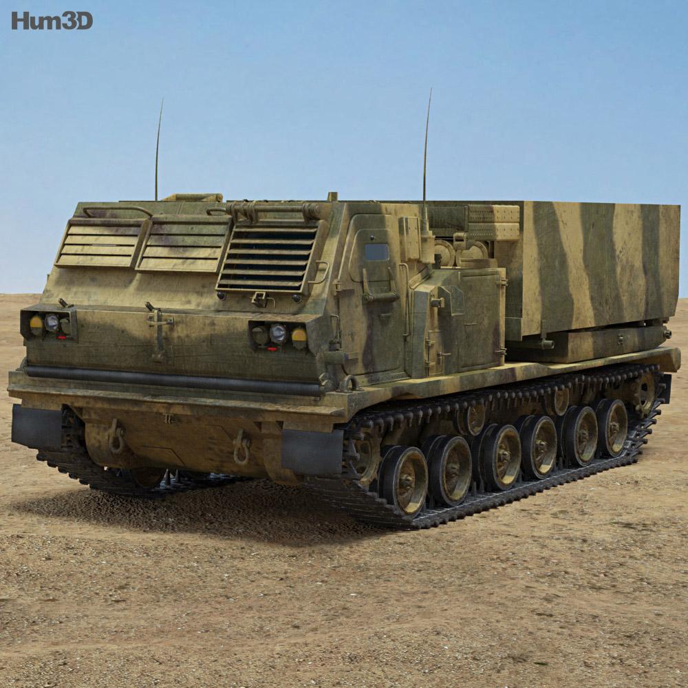 M270 MLRS 3d model