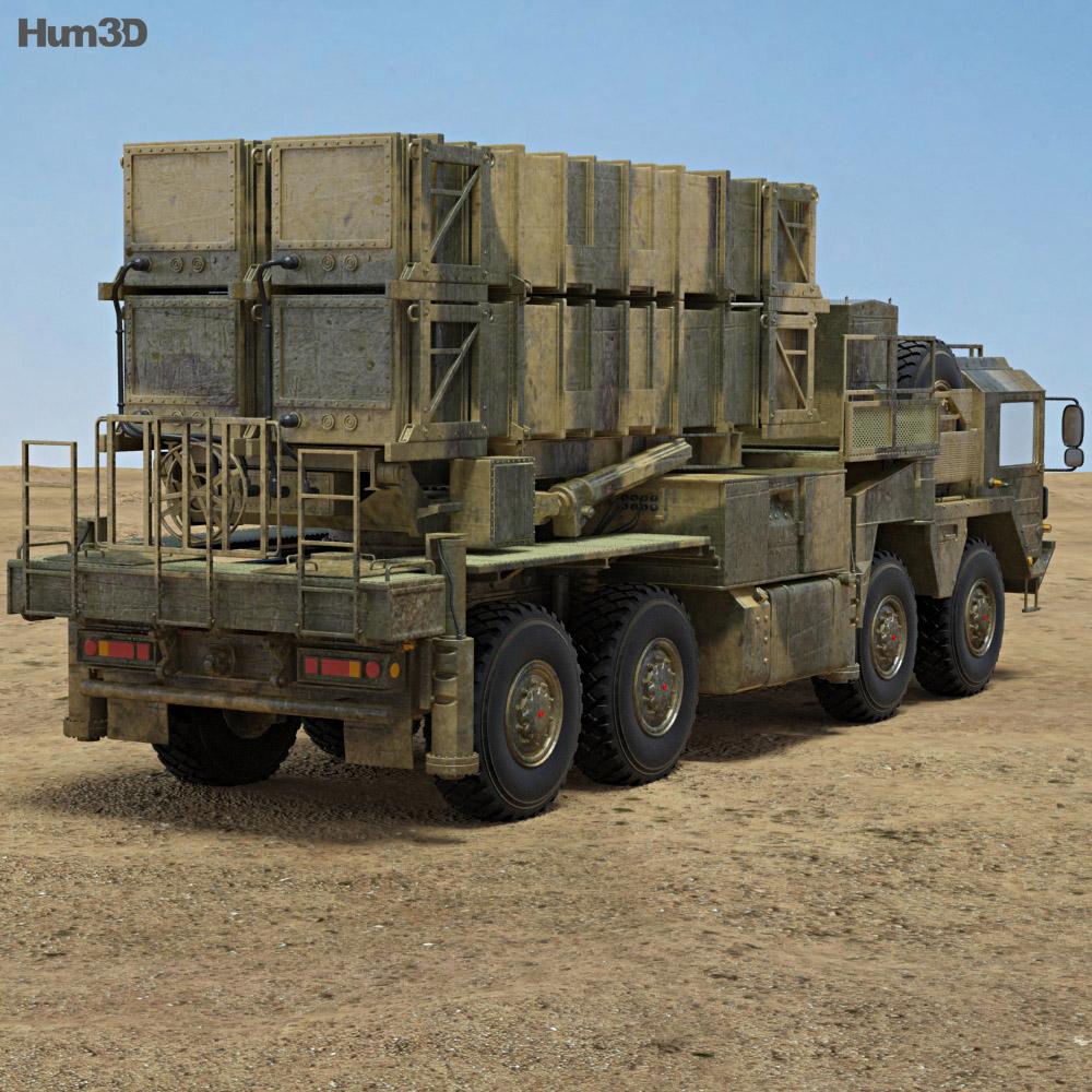 MIM-104 Patriot 3d model